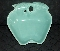Hoenig of California Turquoise Apple Dishes