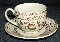 Johnson Brothers Old Granite Fruit Sampler Cup & Saucer Sets