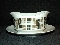 Harmony House Highlander Gravy Boat attached Under Plate