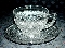 Imperial Glass Cape Cod Cup & Saucer Sets