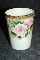 Nippon Moriage Hand Painted Victorian Rose Porcelain Tumblers