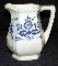 Adams Empress Blue Onion Beverage Pitcher