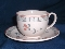Johnson Brothers Old Granite Zephyr Cup & Saucer Sets