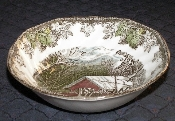 Johnson Bros Friendly Village Made in England Cereal Bowls