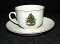 Cuthbertson American Christmas Tree Cup & Saucer Sets