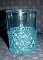 Hobbs Brockunier Daisy & Button Blue Glass Tumblers 101