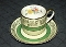 Johnson Bros Pareek Gold Floral Demitasse Cup & Saucer Sets