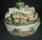 Louisville Stoneware Sculpted Harvest Vegetable Cvd Casserole