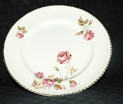 Johnson Brothers Old English Pink Rose Dinner Plates