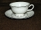 Nobility China Queen's Lace Cup & Saucer Sets