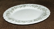 Johnson Brothers Snowhite Regency Floral Vine Bread Butter Plate