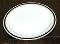 Burgess & Leigh Burleigh Ware Platinum Banded Dinner Plates