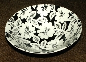 Johnson Brothers Brocade Black Ironstone Dessert Bowls