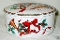 Mikasa Christmas Jubilation Covered Round Box Candy Jar