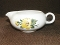 Salem China Yellow Hibiscus Gravy Boat