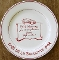 William Sonoma Red Petit Dejeuner Collection Luncheon Plate Set
