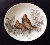 Johnson Brothers Game Birds Woodcock Luncheon Plates