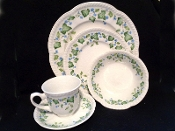 Johnson Brothers Vintage Ivy Place Settings