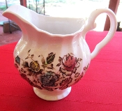 Johnson Brothers Staffordshire Bouquet Creamer