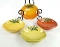 William Sonoma Heirloom Tomato Appetizer Dipping Bowl Set
