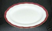Royal Swansea The Coronation Large Oval Serving Platter