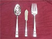 Oneida Coronation Three Piece Serving Set
