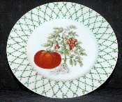 Taitu The Vegetables Tomato Luncheon Plate