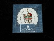 Wedgwood Baby's First Christmas White Jasper Ornament