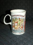 Dunoon Sue Scullard Mug Christmas Tree Windows