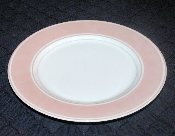 Fitz & Floyd Rondelet Peach Bread & Butter Plates