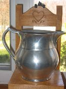 Wilton Armetale Bason Water Beverage Pitcher