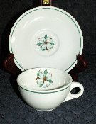 Mayer China Restaurant Ware Dogwood Cup & Saucer Sets