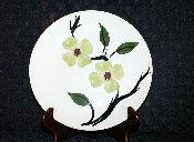 Blue Ridge Pottery Dixie Dogwood Luncheon Plate