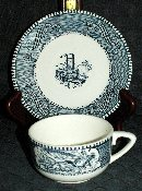 Royal China Currier & Ives Cup & Saucer Sets