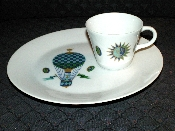 Georges Briard Fancy Free Porcelain Luncheon Set Design A