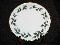 Mikasa Bone China Ribbon Holly Cake Plate