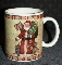 Certified Intl Susan Winget Country Santa Mugs