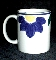 International Tableworks Blue Napoli Mugs