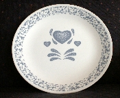 Corning Corelle BLUE HEARTS Dinner Plates
