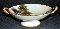 Noritake Antique Moriage Hand Painted Handled Fruit Bowl