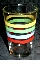 Libbey Primary Color Fiesta Stripe Tumblers
