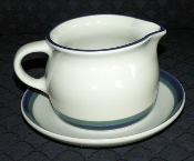 Pfaltzgraff Northwinds Gravy Boat & Underplate