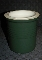Pampered Chef Family Heritage Hunter Green Stoneware Crock
