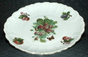Ebeling & Reuss Golden Crown Porcelain Strawberry Dinner Plate