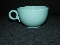 Monterey Art Potteries Aqua Speckled Tea Cups