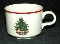 Cuthbertson American Christmas Tree Tea Cups