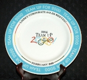 Libbey Syracuse China Team Up For 2000 Corporate Sales Plate