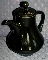Noritake Folkstone Santa Fe Black 8510 Coffee Pot
