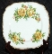 Royal Albert Tea Rose Yellow Bone China Square Salad Plate