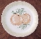 Franciscan Ironstone Fruit Peaches Dinner Plates